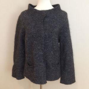 Eileen Fisher Angora Cashmere Mohair Sweater Sz S